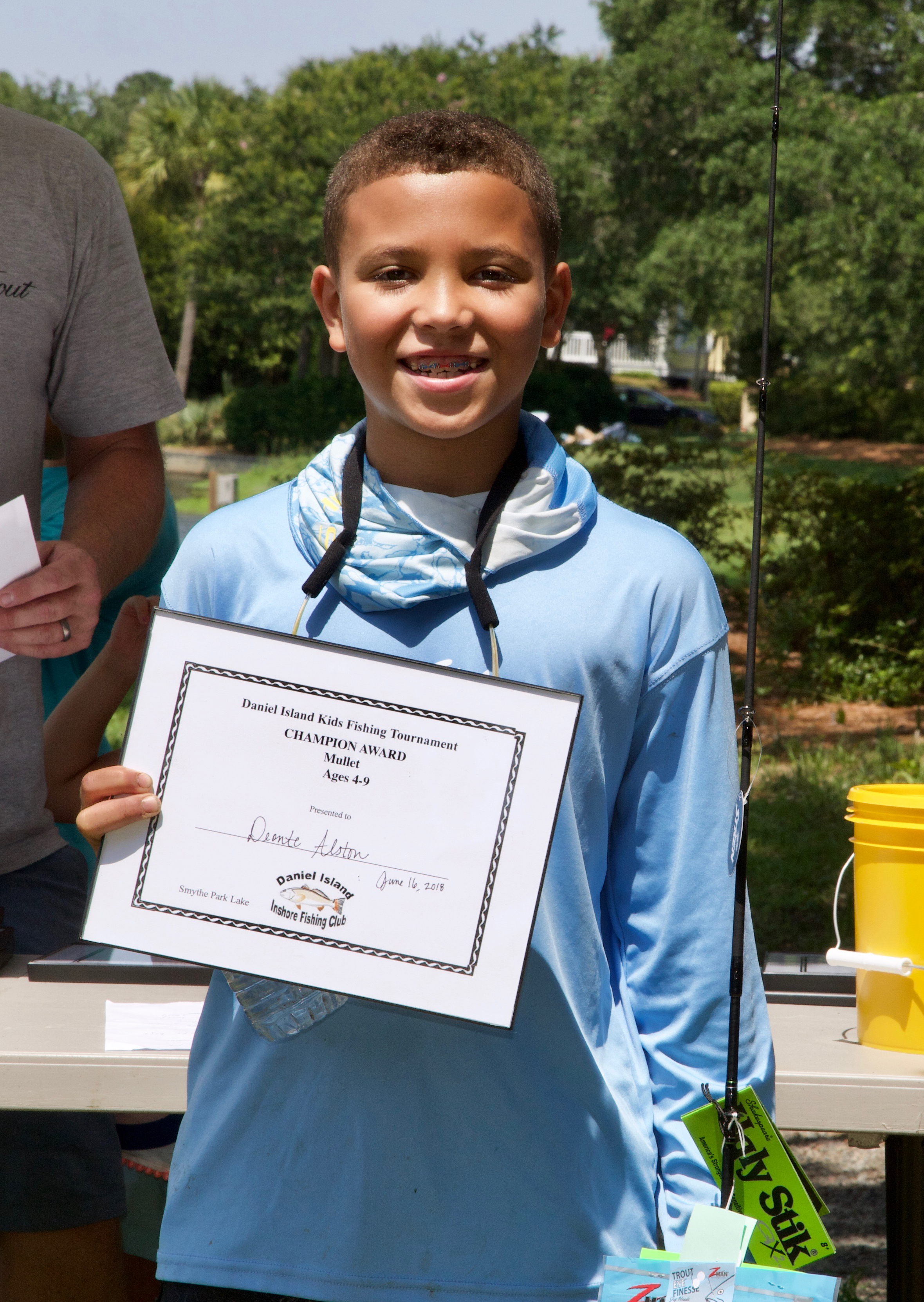 Deonte Alston – Champion Award, Mullet, Ages 4-9.