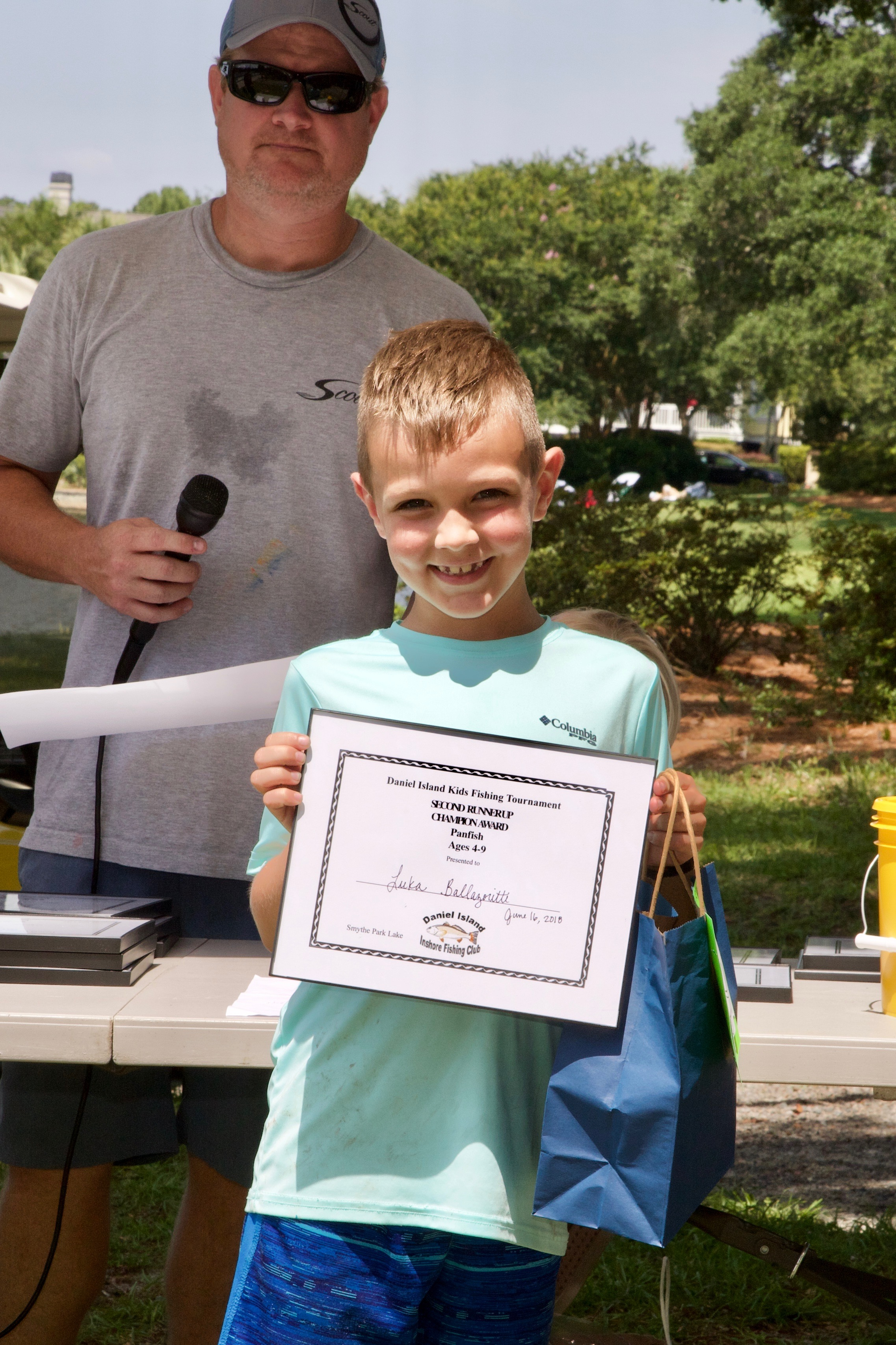 Lucca Balazorotti – Champion Award, 2nd Runner Up,  Panfish, Ages 4-9.