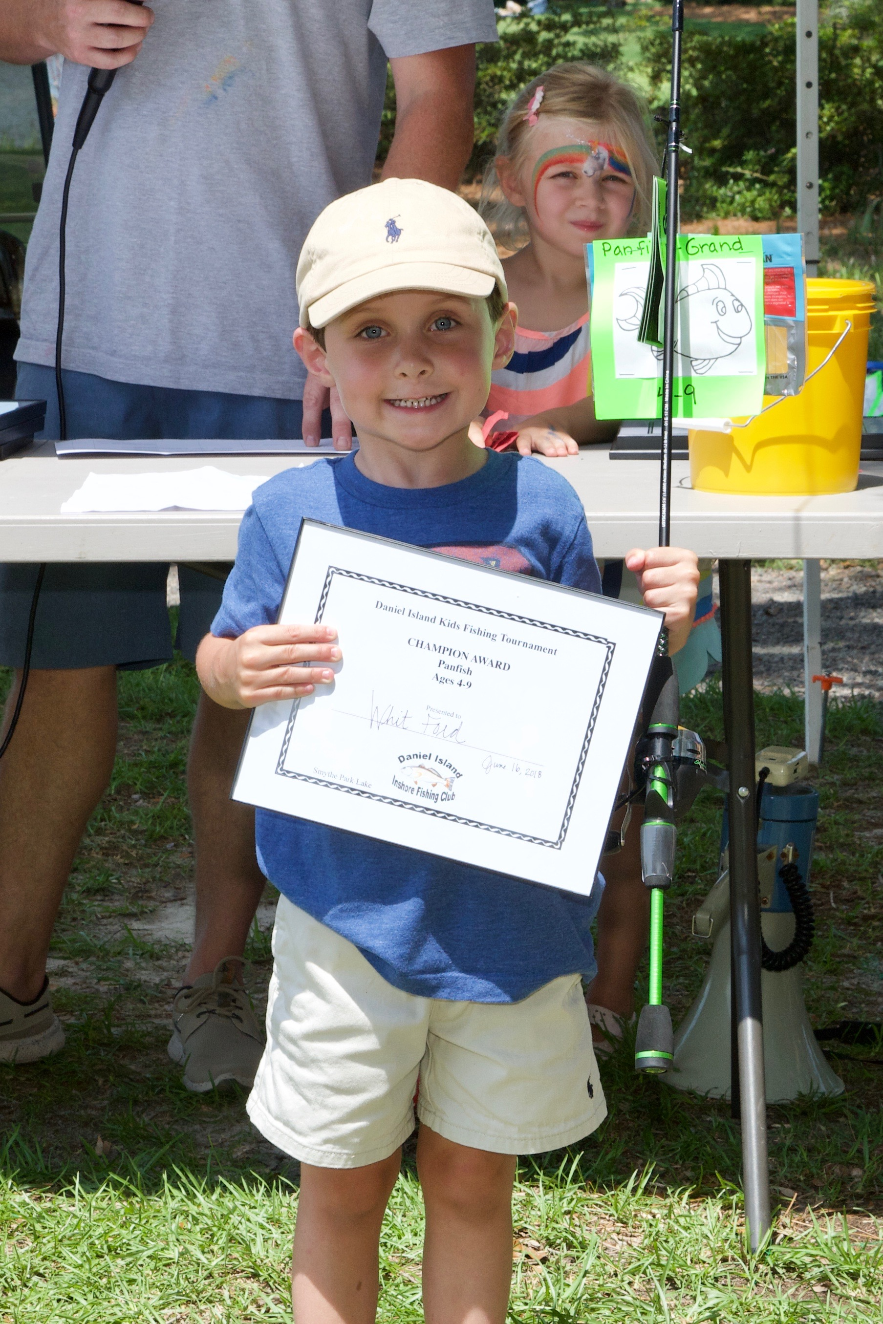 Whitt Ford – Champion Award, Panfish, Ages 4-9.