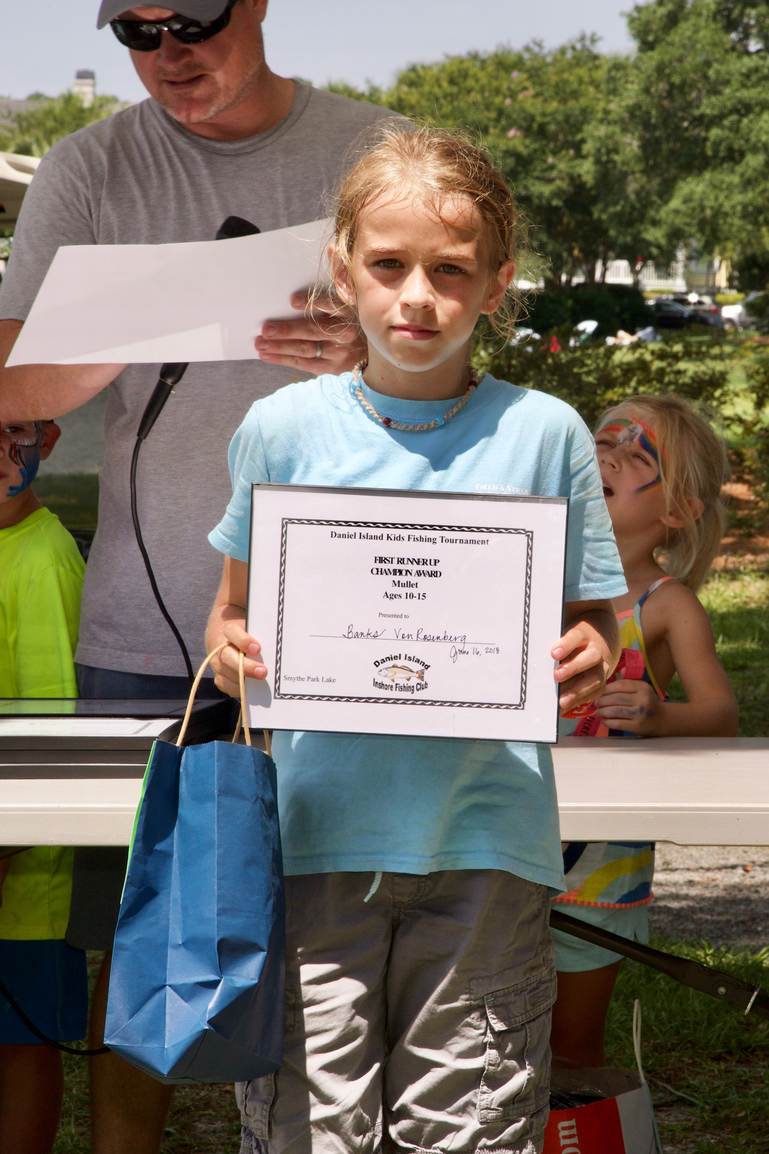 Banks Von Rosenberg – Champion Award, 1st Runner Up, Mullet, Ages 10-15.
