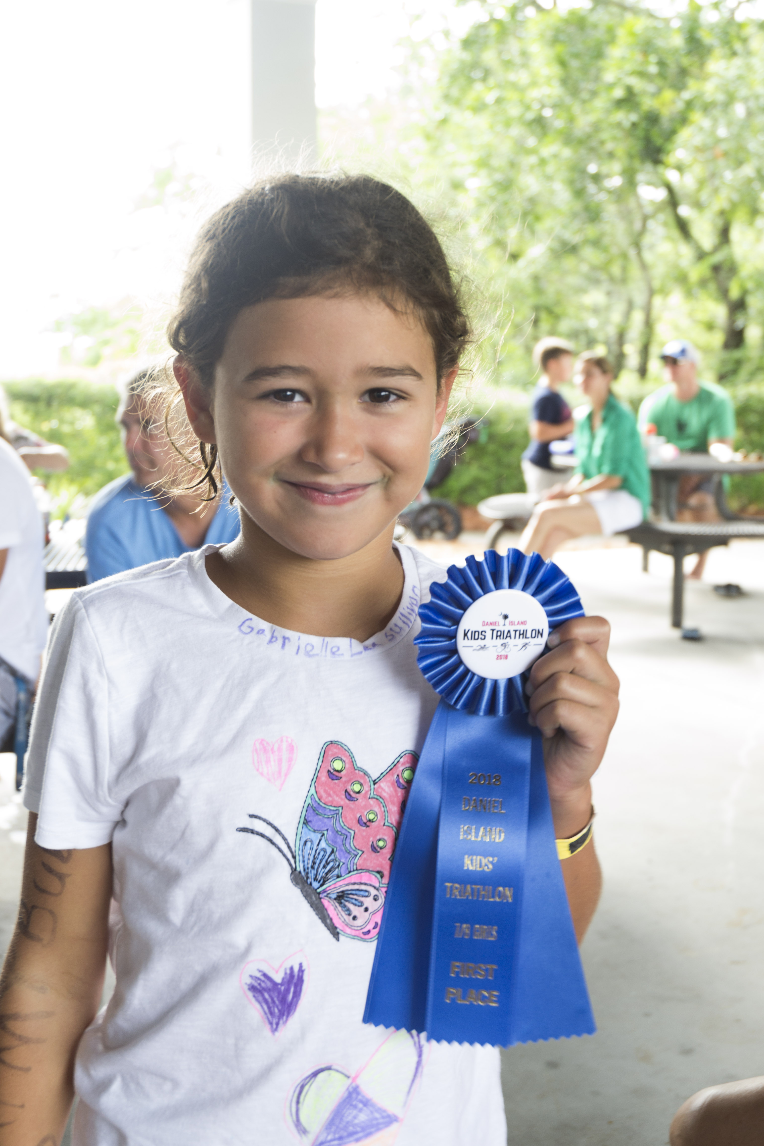 First place winner in the 7-8 girls' age group – Gabrielle Sullivan.