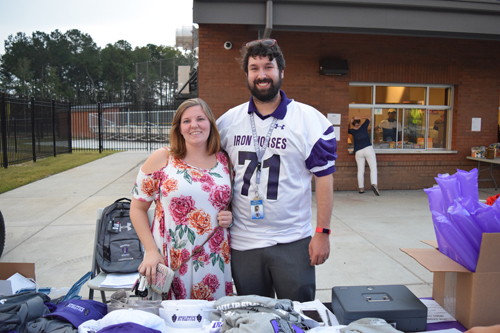 PSHS Athletic Boosters sold merchandise to raise funds for the athletic programs at PSHS.