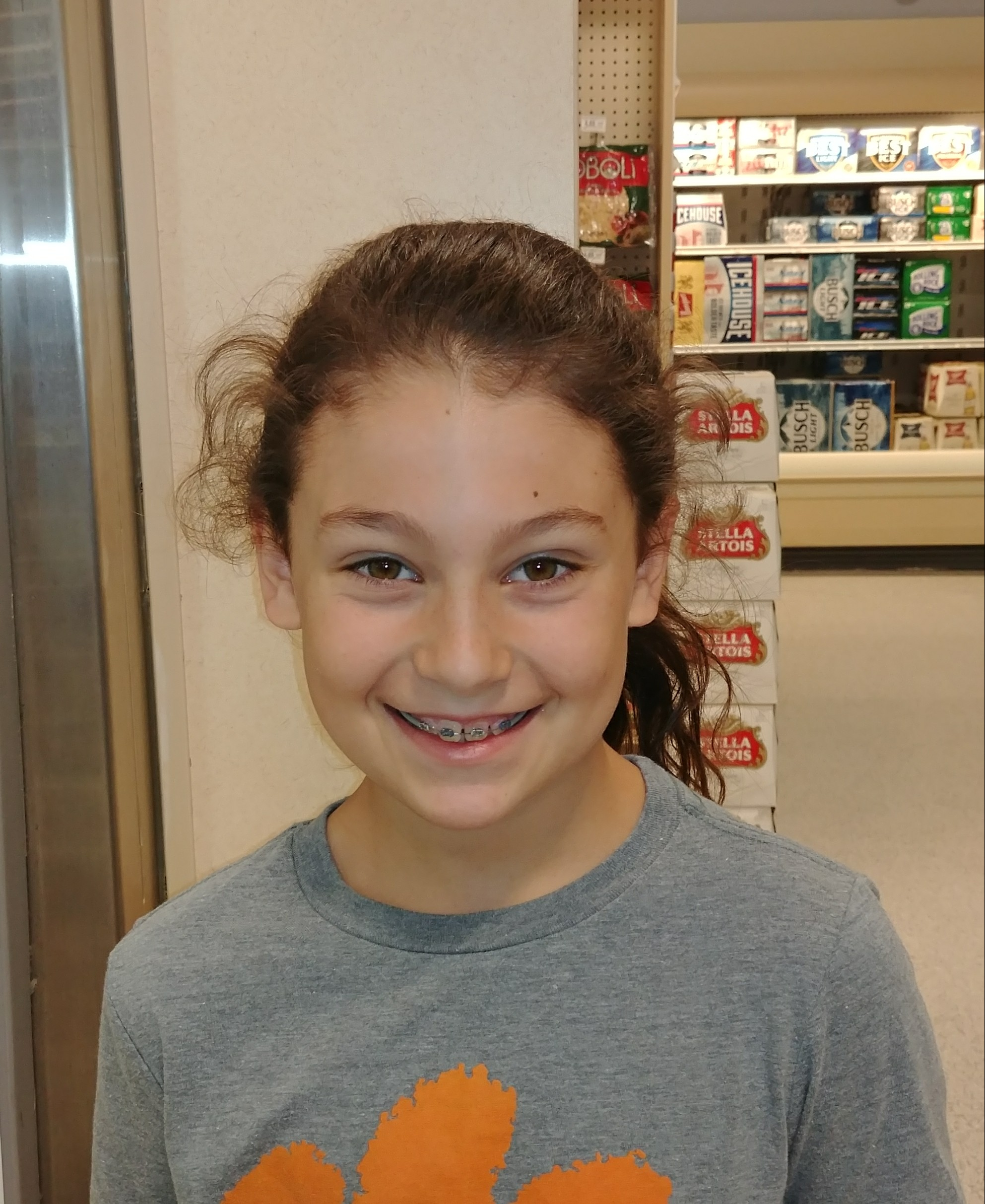 She's kind.  Emilyann  Age 9