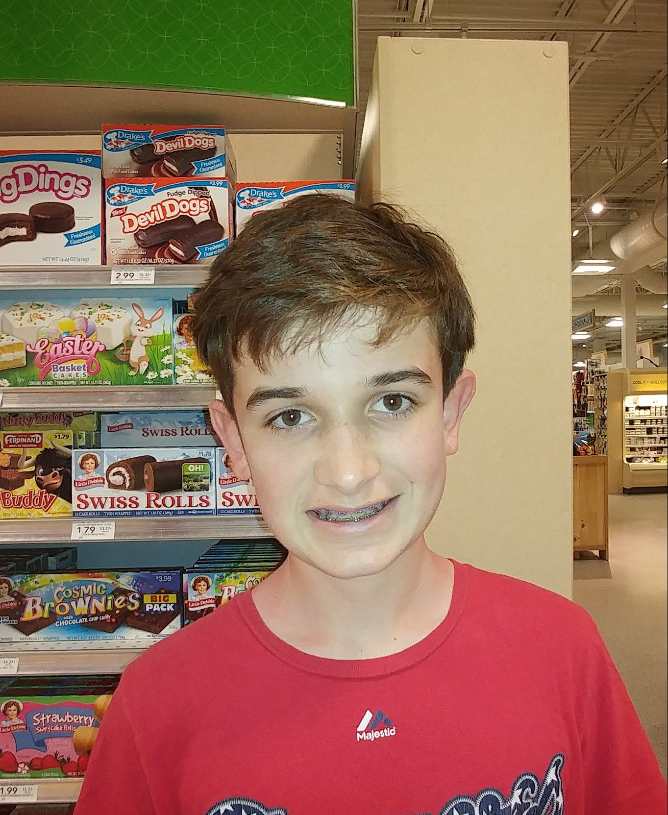 Not to lie.  James,  Age 13