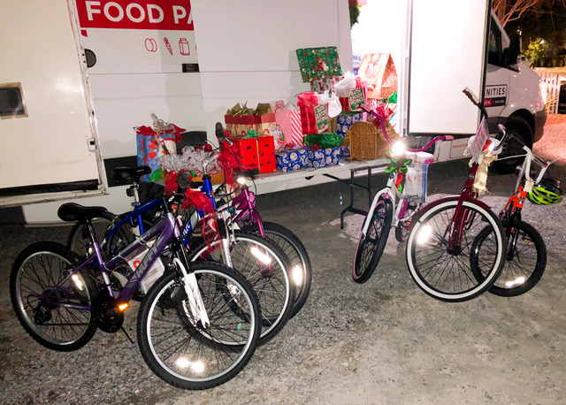 The Exchange Club of Daniel Island held its Third Annual Angel Tree for the Humanities Foundation on Dec. 10. The club collected gifts for 43 children including bikes, toys, games, and clothing. This year was a little different from previous years due to COVID-19. The club held a Holiday Parking Lot Party and Toy Drop Drive-Thru.