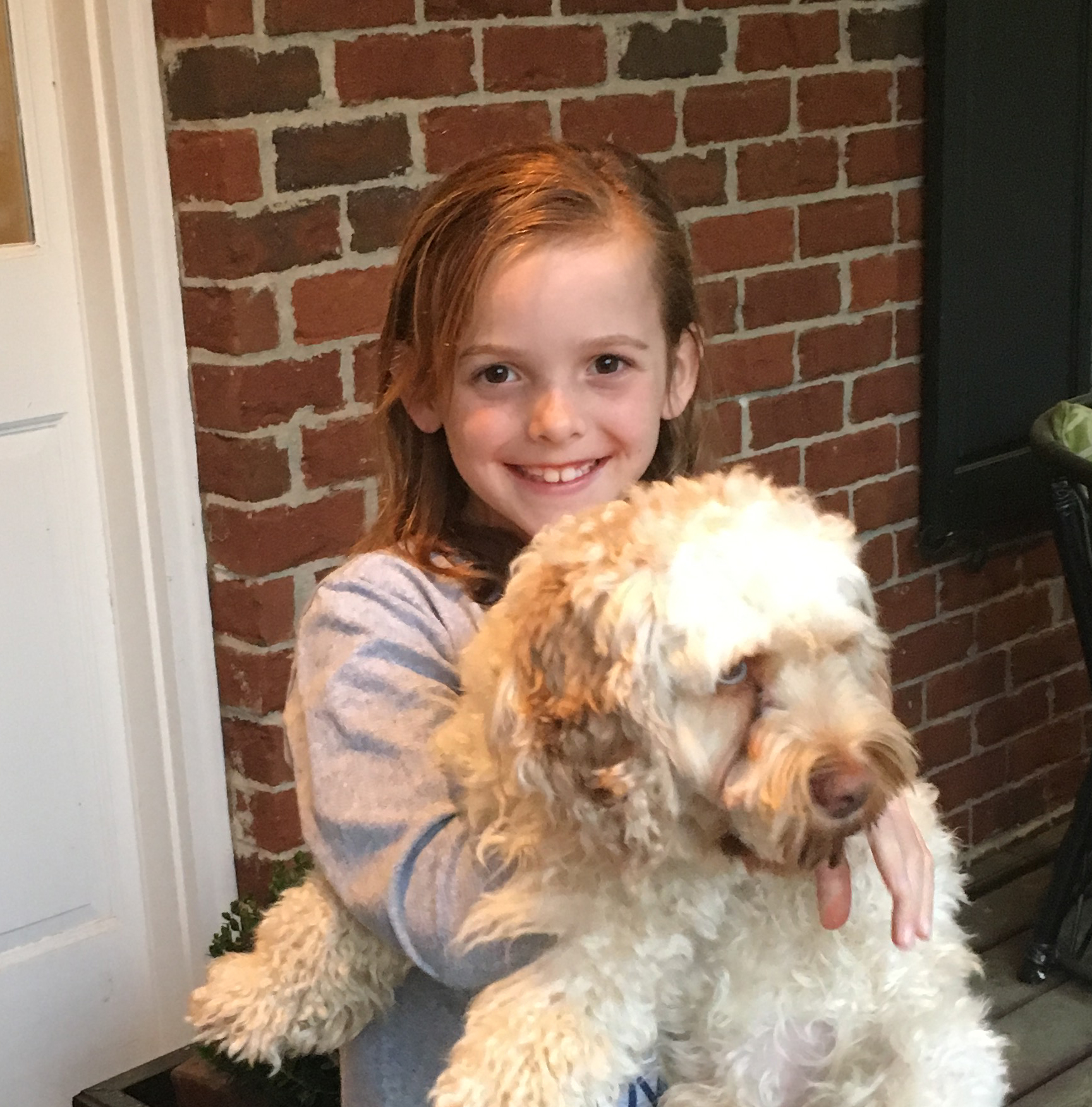 We spend about 75 percent of our lives looking at the world through technology. It's important that we take the time to see the world just as it is! I'd rather be reading, outside playing soccer or just having fun with my friends and my dog!  Braelyn Age 7