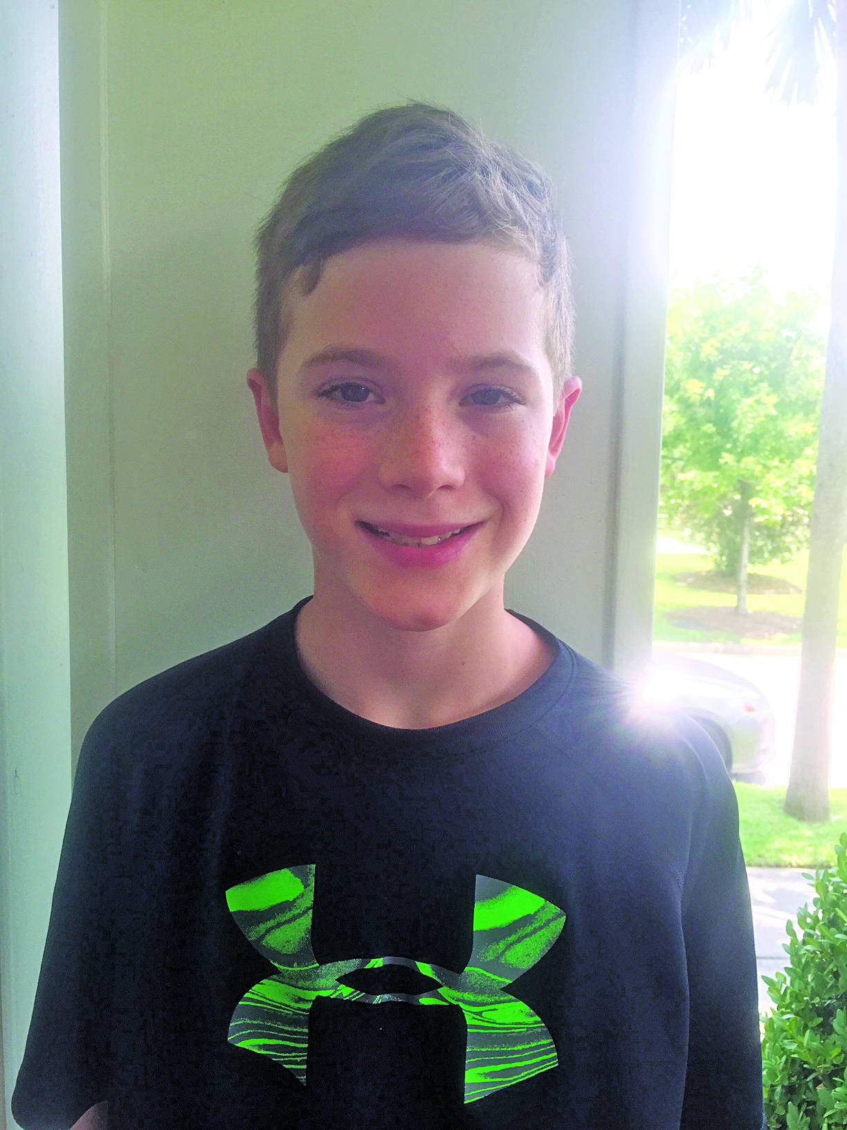 I'm looking forward to being with friends! Connor Age 9