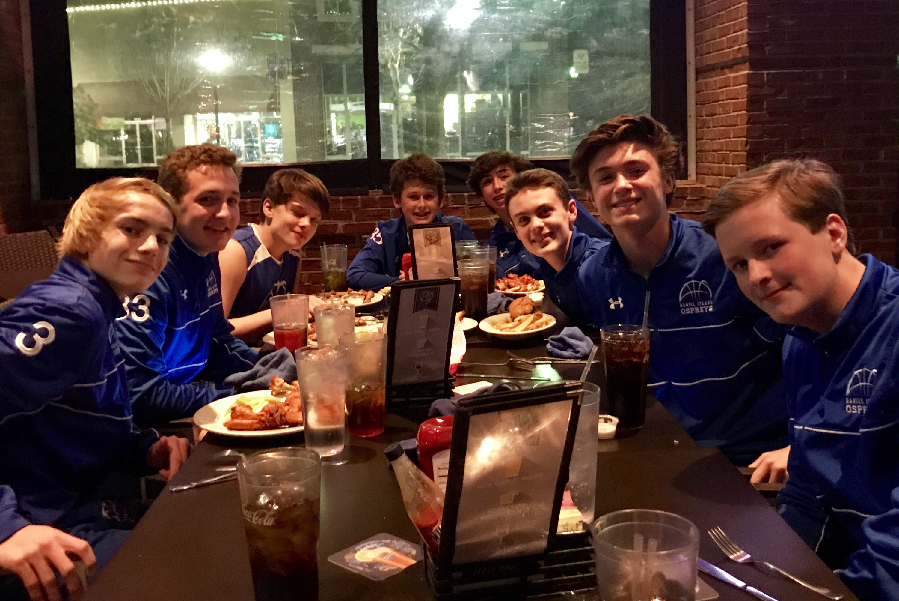 "WHOLE TEAM! 8th grade boys ""The. Whole. Team. Great effort by everyone. We could not decide. Congratulations!"" - Coach Rocky Catalano. Team members are: Carson Arnold, Brady Comer, Ben Dreyer, Stephen Etheridge, William Hyatt, Matthew Lemmon, Allen Myers, Matt Newport, Tee Skipper, Tristan Skipper, and Cole Wilson."
