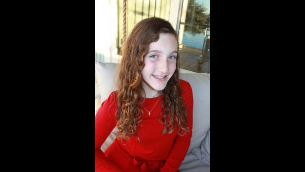 Ashley Angerman is a sixth grader at Palmetto Christian Academy.