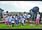 Daniel Island campers take a history-filled field trip to Fort Sumter and Fort Moultrie National Historical Park.