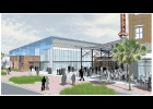 A proposed new event/performance hall on Daniel Island, shown here in this architectural rendering, is planned for 890 Island Park Drive, beside Dockery's. Seating inside the facility could go from 300 to 500 to serve a variety of purposes, from banquet events to corporate meetings to musical performances.